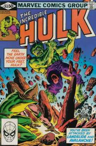 Incredible Hulk, The #263 FN; Marvel | save on shipping - details inside