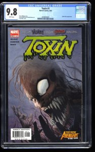 Toxin #1 CGC NM/M 9.8 White Pages