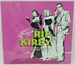 RIP Kirby 3: First Modern Detective Complete Comic Strips 1951-1954