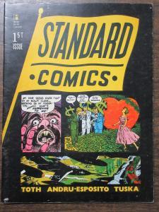 Standard Comics #1 1985 Fan Magazine feat. Toth Andru Esposito Tuska