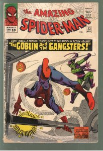 AMAZING SPIDERMAN #23 GD 2.0;3rd APPEARANCE GREEN GOBLIN