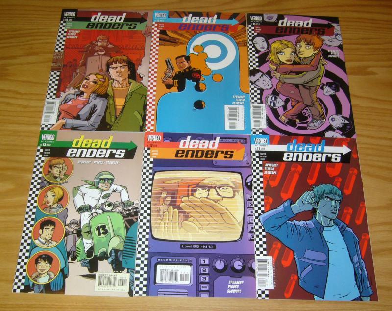 Deadenders #1-16 VF/NM complete series - ed brubaker - vertigo comics set lot