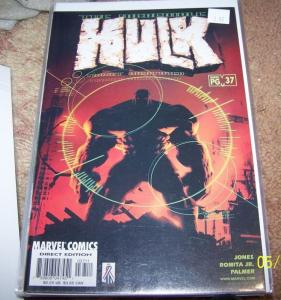 Incredible Hulk  # 37 vol 3 (Apr 2002, Marvel)