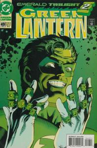 Green Lantern (3rd Series) #49 FN; DC | save on shipping - details inside