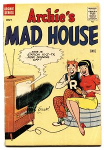 ARCHIE'S MAD HOUSE #6 1960-MLJ/ARCHIE-HORROR ISSUE-comic book