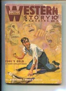 Western Story 11/25/1939-Cowboy pulp stories-Seth Ranger-L.L. Foreman-Harry S...