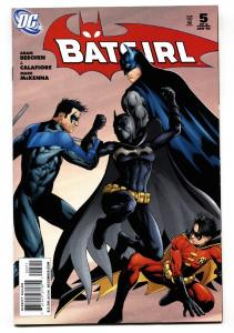 BATGIRL #5 Batman Nightwing Robin comic book-2009-DC