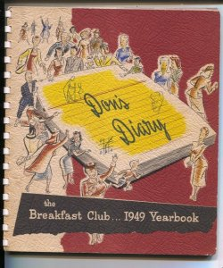 Don's Diary Breakfast Club Yearbook 1949-radio series starring Don McNeill-sp...