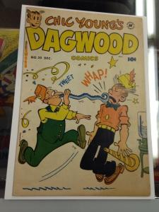 Harvey's Dagwood #25 Golden Age Dec. 1952