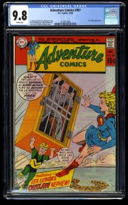 Adventure Comics #387 CGC NM/M 9.8 White Pages Highest Graded!