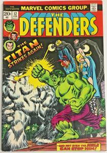 DEFENDERS#12 VG 1974 MARVEL BRONZE AGE COMICS