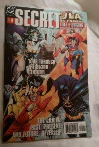 JLA in Crisis Secret Files & Origins #1 DC Comics Justice League NM