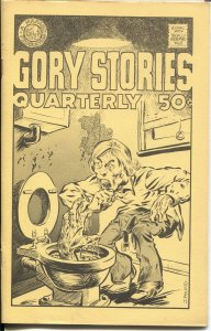 GORY STORIES QUARTERLY #2-1971-SCOTT SHAW-JOHN POUND-KEN KRUGER-UNDERGROUND