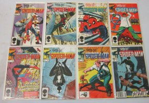 Web of Spider-Man comic lot from:#2-25 19 difference 8.0 VF (1985-87)