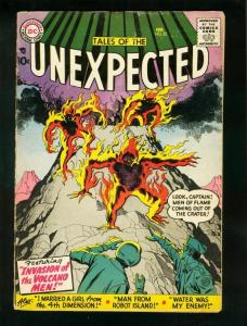 TALES OF THE UNEXPECTED #22 1958-DC COMICS-JACK KIRBY-ROBOT ISLAND VG