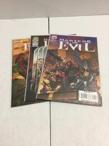 House Of M Masters Of Evil 1-3 Lot Set Run Nm Near Mint Marvel Comics IK