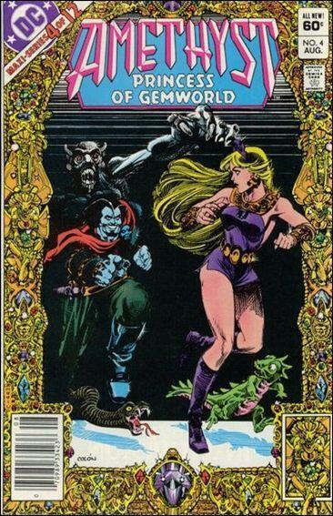 DC AMETHYST, PRINCESS OF GEMWORLD (1983 Series) #4 VF