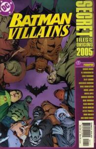 Batman: Villains Secret Files and Origins #1, NM (Stock photo)
