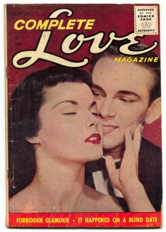 Complete Love Magazine Vol. 31 #5 1955- Forbidden Glamour