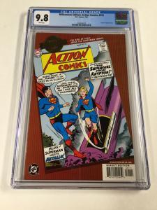 Millennium Edition Action Comics 252 Cgc 9.8 Modern Dc Comics