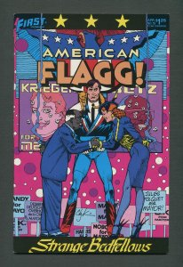 American Flagg #19  /  8.0 VFN  /  April 1985