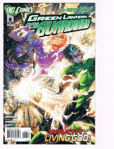 Green Lantern New Guardians # 6 DC Comic Books Hi-Res Scans The New 52 WOW!! S15