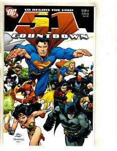 12 Countdown Final Crisis DC Comics # 51 50 49 48 47 46 45 44 43 42 41 40 EK14