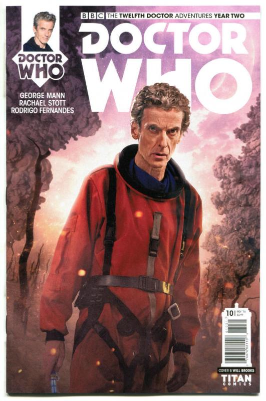 DOCTOR WHO #10 B, NM, 12th, Tardis, 2016, Titan, 1st, more DW in store, Sci-fi