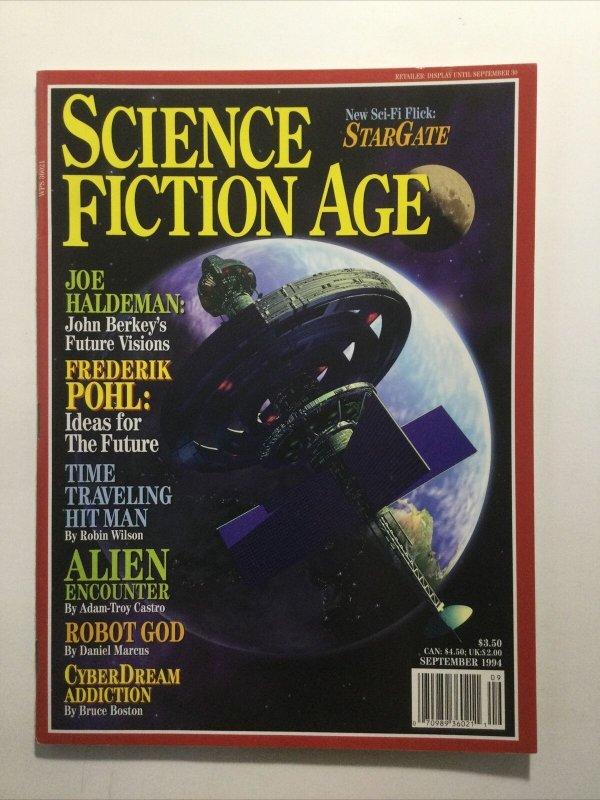 Science Fiction Age September 1994 Magazine Near Mint Nm Sovereign Media