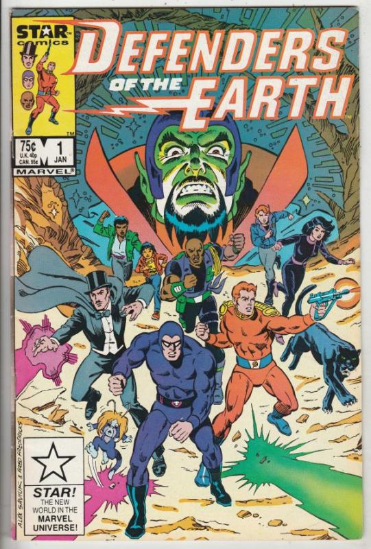 Defenders of the Earth #1 (Jan-87) NM- High-Grade The Phantom, Mandrake