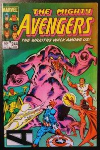 The Avengers #244 (1984) VF-