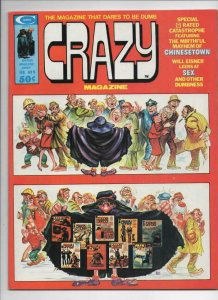 CRAZY #9 Magazine, VF, Will Eisner, Kelly Freas, 1973 1975, more in store