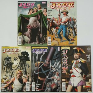 Jack of Fables: The Books of War #1-5 VF/NM complete story bill willingham 28-32