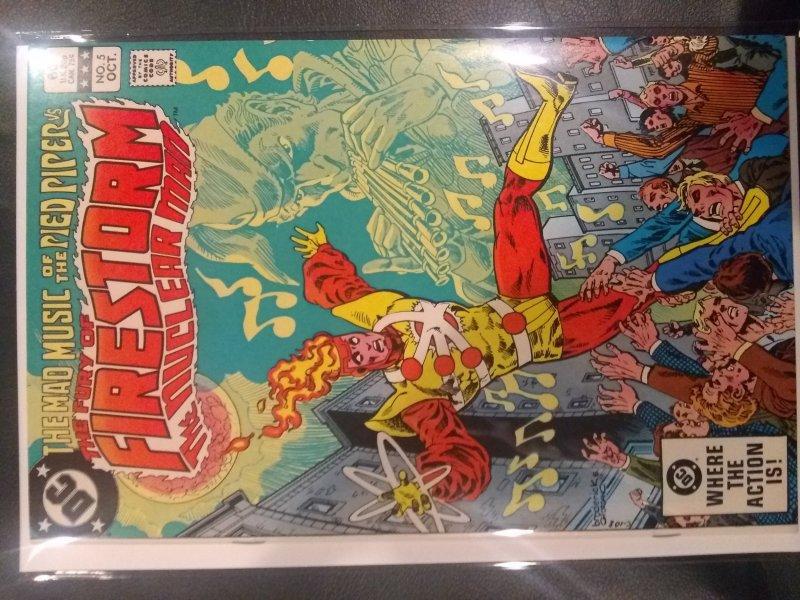The Fury of Firestorm #5 (1982)