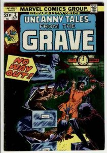 UNCANNY TALES #3, FN+, Little Monsters, Grave, 1973, more Bronze age in store