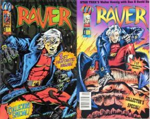 RAVER (1993 MA)1A,1B Walter (Star Trek's CHEKOV) Koenig