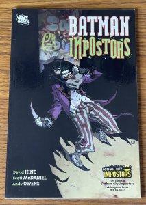 BATMAN: IMPOSTORS TRADE PAPERBACK TPB THE JOKER 2011 Series DC Comics 1st PRINT