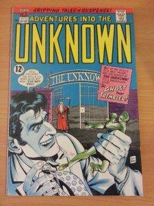 Adventures into the Unknown #172 ~ FINE - VERY FINE VF ~ 1967 ACG Comics