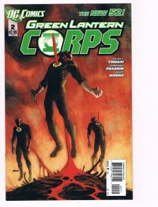 Green Lantern Corps # 2 DC Comic Books Hi-Res Scans The New 52 Great Issue!! S15