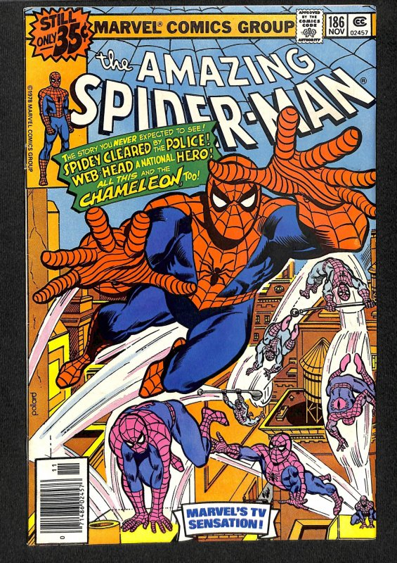 The Amazing Spider-Man #186 (1978)