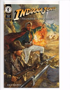 Dark Horse Comics Indiana Jones: Thunder in the Orient #5 Dan Barry Story & Art