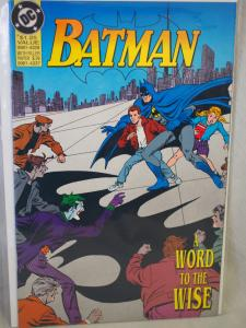 Batman Word to the Wise in VF/NM condition.  Rare Cdn Zeller's Exclusive 1992