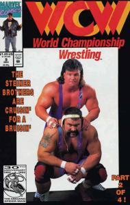 WCW World Championship Wrestling #9 FN; Marvel | save on shipping - details insi