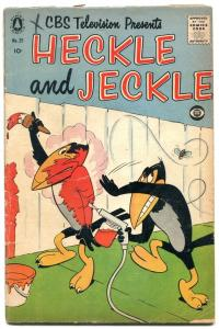 HECKLE AND JECKLE #25 1956-PINES COMICS-GOLF-EGYPT-RARE VG
