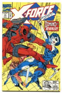 X-FORCE #11 comic book DEADPOOL-1st DOMINO  nm-