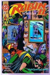 ROBIN #2, NM+, Joker 's Wild, Chuck Dixon, 1991, more DC in store Ha Ha Ha