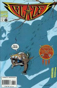Blaze #6 FN; Marvel   save on shipping - details inside