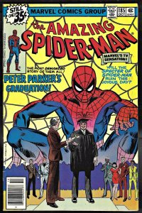 Amazing Spider-Man 185 FN/VF 7.0 Uncertified Marvel 1978 FREE SHIP