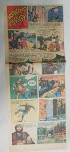 Hopalong Cassidy Sunday Page by Dan Spiegle from 8/12/1951 Size: 7 x 17 inches