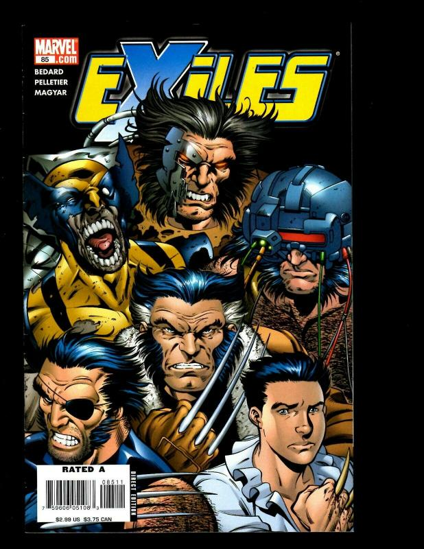 12 Exiles Marvel Comics # 78 79 80 81 82 83 84 85 89 90 91 92 Spider-Man EK10